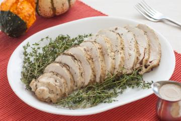 Roast Turkey Breast with Rosemary, Sage, and Thyme