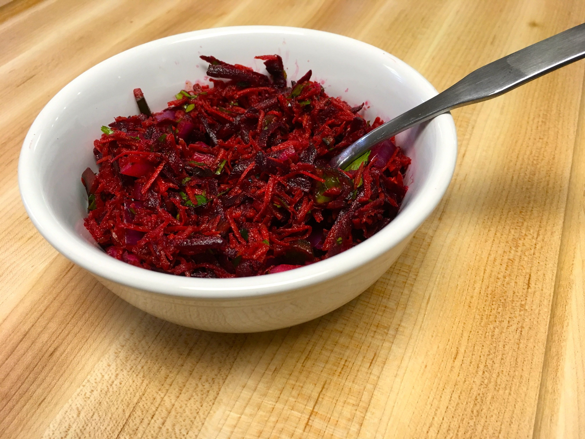 Gingered Carrot and Beet Salad