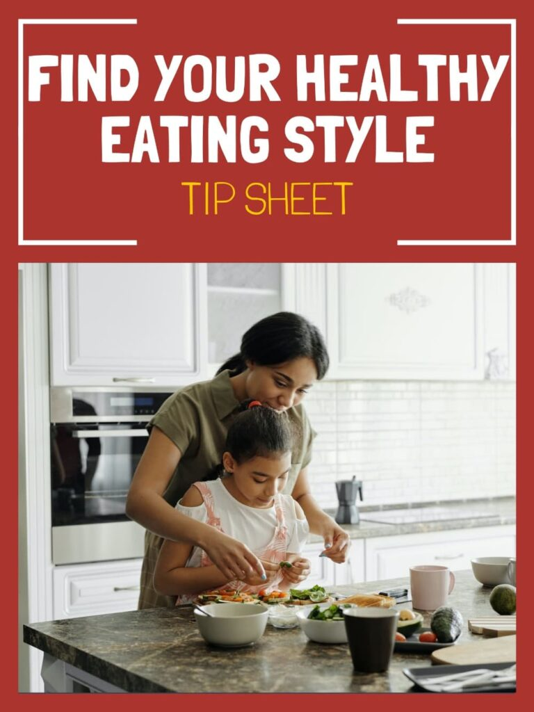 find your healthy eating style