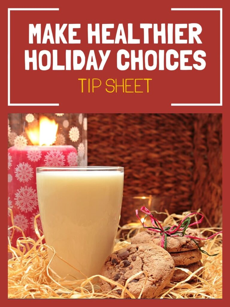 make healthier holiday choices