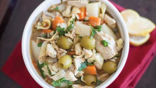 Chicken Tagine with Olives and Artichoke Hearts