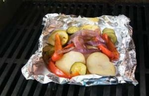 Grilled Vegetable Packets