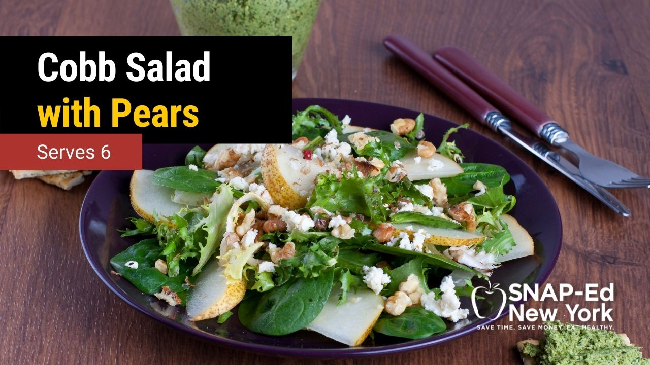 Cobb Salad with Pears