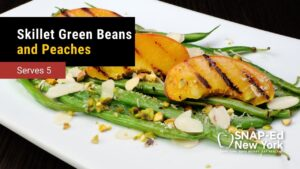 Green Beans with Peaches